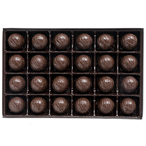 Triple Dark Chocolate Truffles