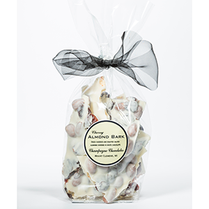 White Cherry Almond Bark